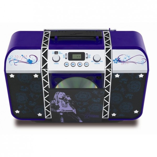 hannah montana lecteur cd radio. Black Bedroom Furniture Sets. Home Design Ideas