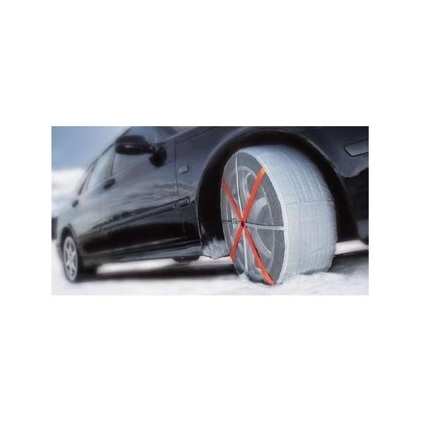 chaussettes neige autosock 540 pour pneu 155 70 13. Black Bedroom Furniture Sets. Home Design Ideas