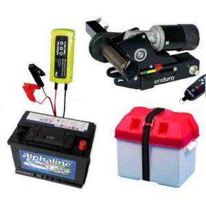 Pack Deplace caravane Enduro mover Eco Em203 + Batterie + Chargeur Bac