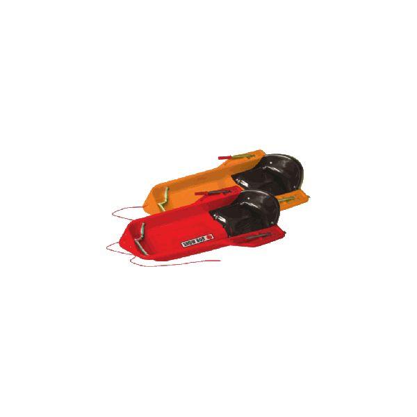luge snow bob 2 places adulte enfant avec freins en acier luges adulte enfant. Black Bedroom Furniture Sets. Home Design Ideas