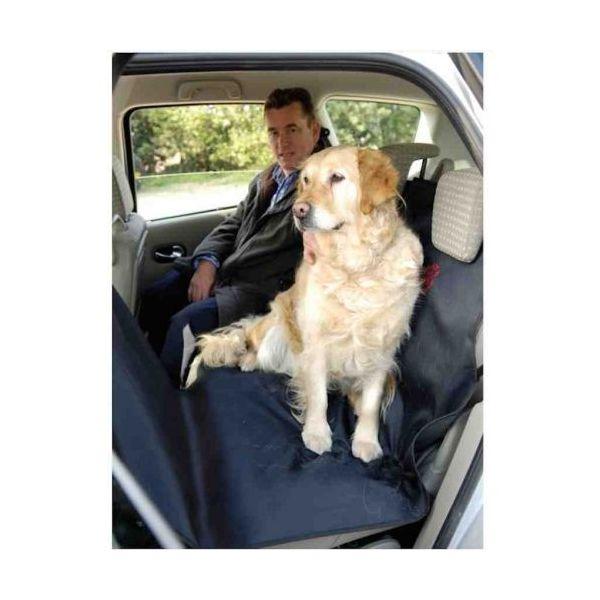 protection siege bdp pour chien banquette arriere universelle auto. Black Bedroom Furniture Sets. Home Design Ideas